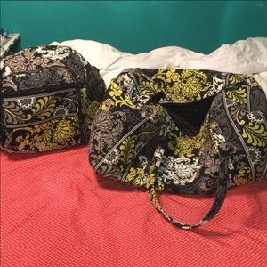 Vera Bradley Baroque Backpack and Duffle